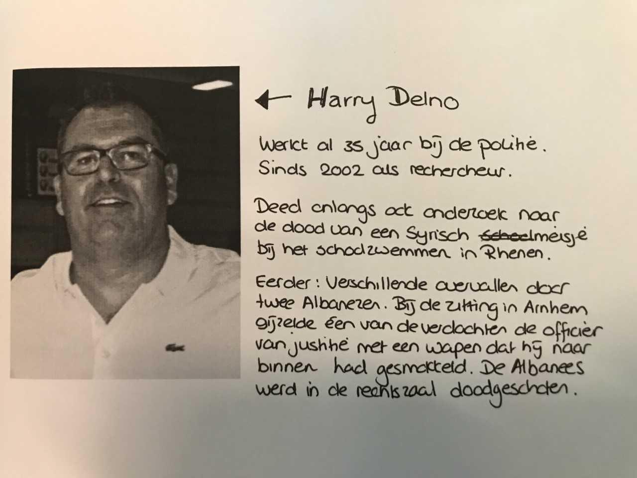 Rechercheur Harry Delno